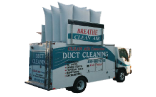 Clean Air Connections truck